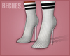 B. Fitted Sock Heels!