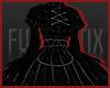 FSx} Yui Dress Black