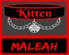 Kitten Collar: Red