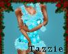 Teal Snow Outfit GA
