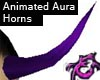 Animated Aura Blue Horns