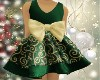 Kid Xmas Dress Green