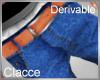 C derv low jeans
