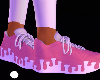 Pink Drip Shoe