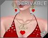 ~AK~ Love Necklace Set