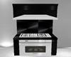 stove add on ~ black