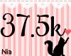 37.5k Support Sticker
