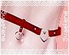 Heart Belt |Red