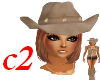 c2 Cowgirl hat