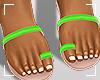 ṩJae Sandals Lime