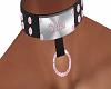 Pink Jewled Collar v2