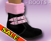 Sexy Pink Winter Boots