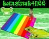 Rainbow Dancing Floor!