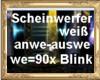 HB Weisser Scheinwerfer