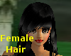 (A) Long Blk Hair