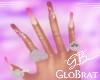 Pink Shi Nails