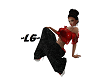 ~LG~ RED & BLK SEXI FIT
