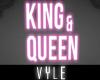King & Queen Neon Sign