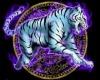 blk purple pvc castle