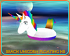 BEACH UNICORN FLOATING