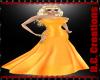 DC! Eva Orange Gown