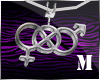 § Bisexual Necklace M