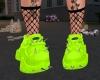 ♡ Sneakers Neon