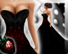 !! Black Red Ball Gown2