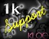 [Kloe] 1K Support