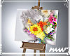 !Half painted Canvas