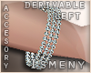 [Is] Diamond Bracelet -L