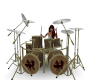 Animated Drum Set