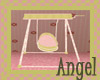 Pink Flower Baby Swing