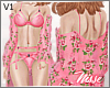 n| Floral Layerable Pink