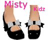 Kids Doll Shoes Black