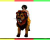 Animated Lion w/Roar