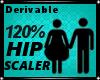 m/f  hip scaler 120%