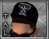 ~TAL Blk Gangsta Tx Hat