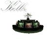 Kellz Sofa with plant