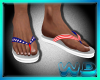 (W) Patriot Flipflops