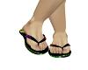 wb rainbow sandles