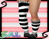 Striped Long Socks/Shoes