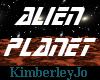 Alien Metal Planet