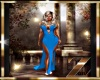 Symphony in blue gown