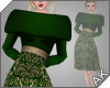 ~AK~ Winter Dress: Green