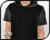 A| Long Hooded Tee v.2