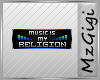 Music my Religion- Badge
