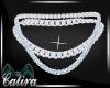 Aquamarine Gem Necklace