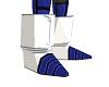 Saiyan Boots Blue