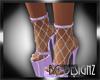 [BGD]Plunge Fishnet Shoe